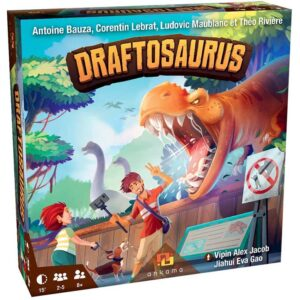 Draftosaurus Board Game