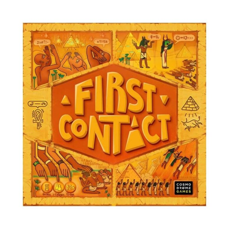 First Contact Board Game