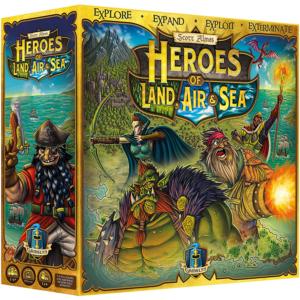 Heroes of Land Air & Sea Board Game
