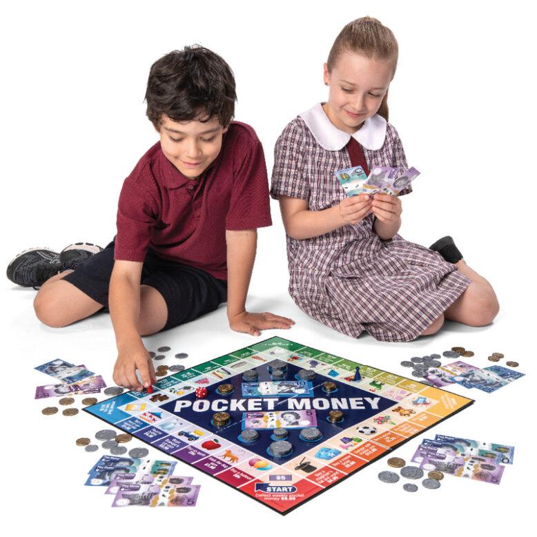 Pocket Money Educational Board Game