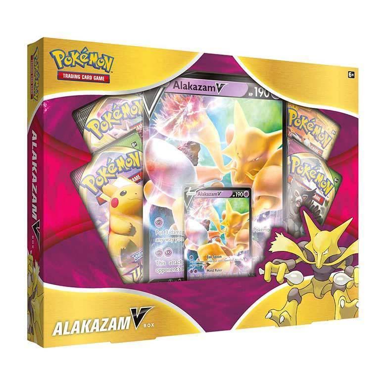 Pokemon TCG Alakazam V Box