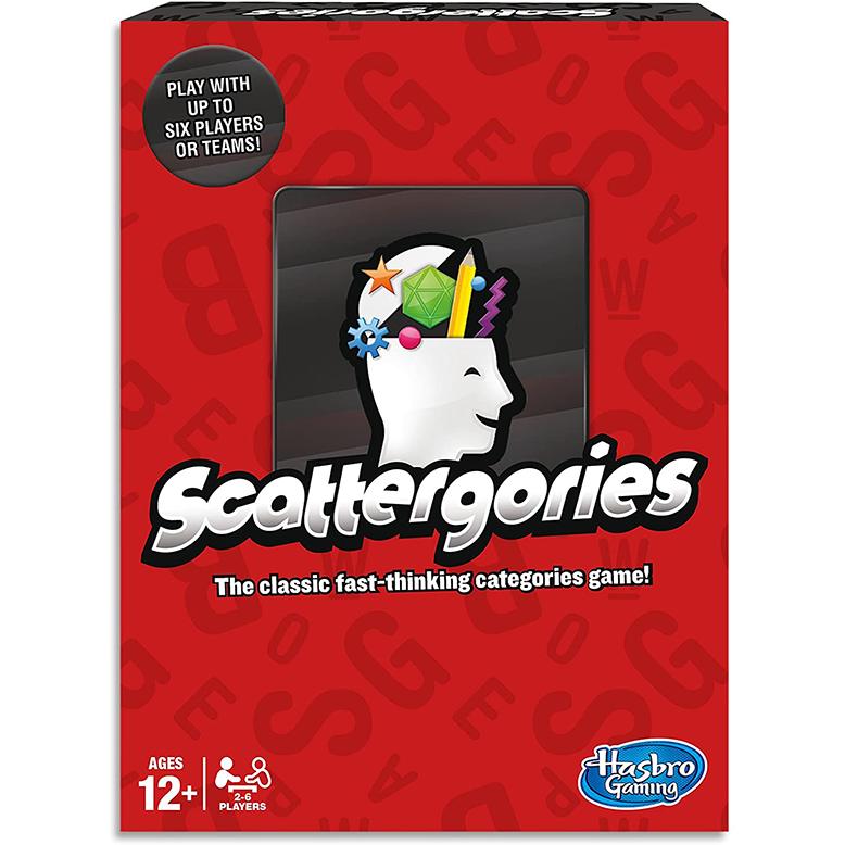 Scattergories Board Game