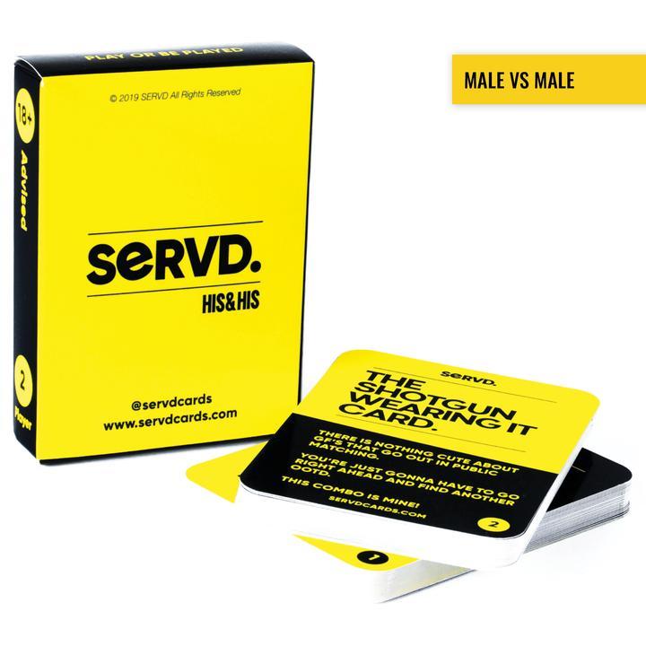 Servd His & His