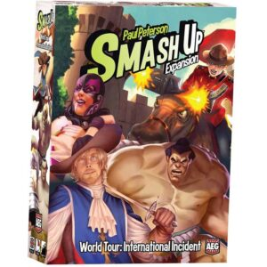 Smash Up World Tour International Incident