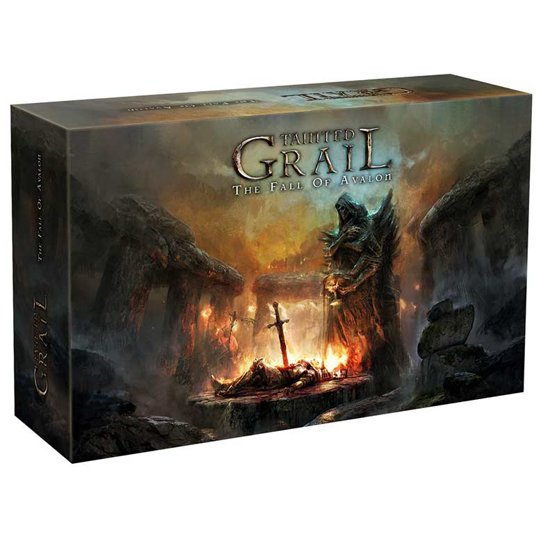 Tainted Grail The Fall of Avalon Board Game