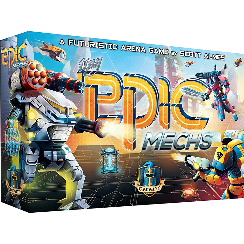 Tiny Epic Mechs Board Game