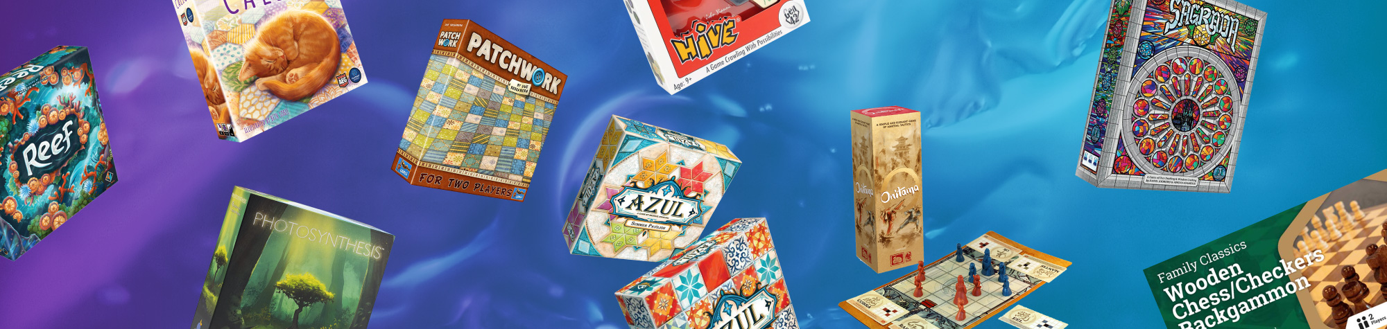 Top 10 Abstract Board Games