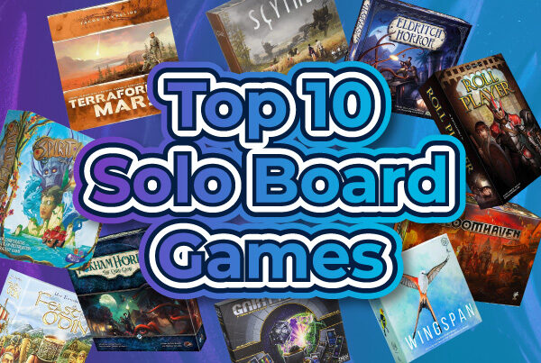 Top 10 Solo Board Games