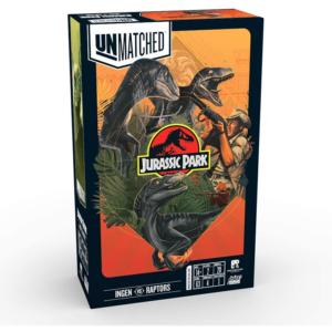 Unmatched Jurassic Park - InGen vs Raptors