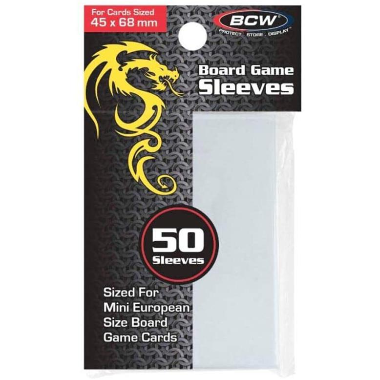 BCW Board Game Sleeves Mini European