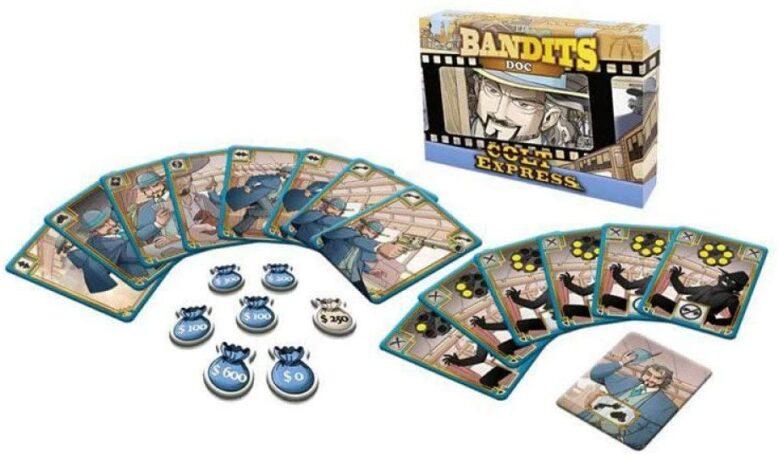 Colt Express bandits doc contents