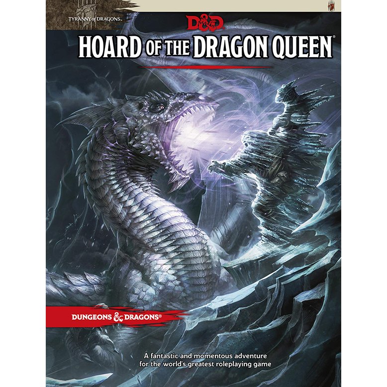 DD Tyranny of Dragons Hoard of the Dragon Queen