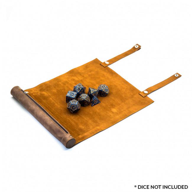 Dice Tray Brown Open