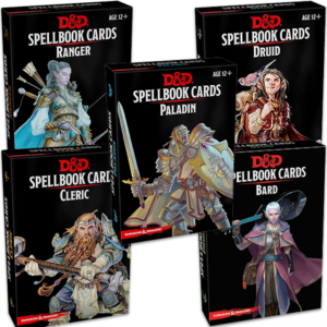 Dungeons & Dragons Class Spellbook Cards