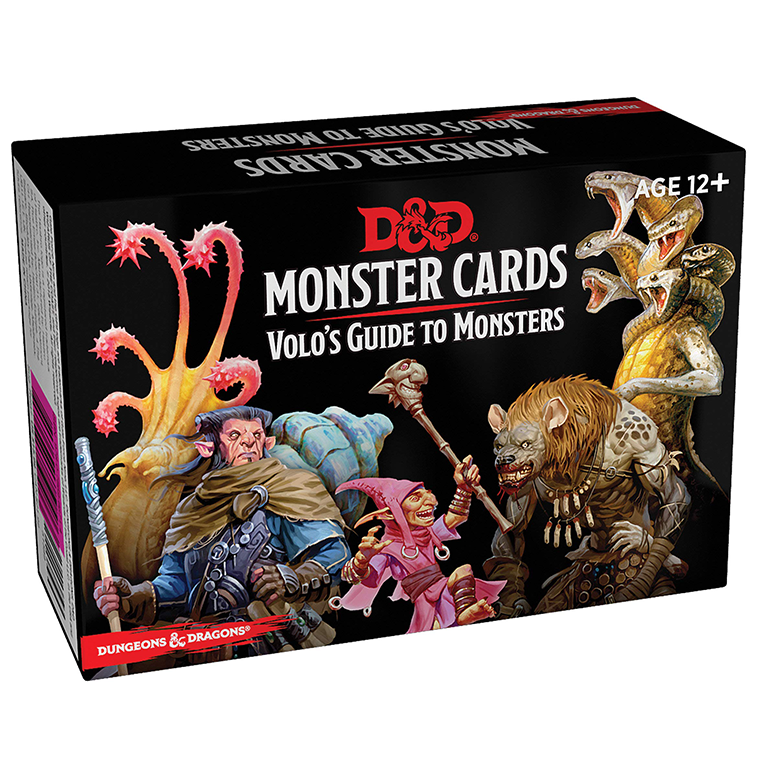 Dungeons & Dragons Monster Cards Volo's Guide to Monsters