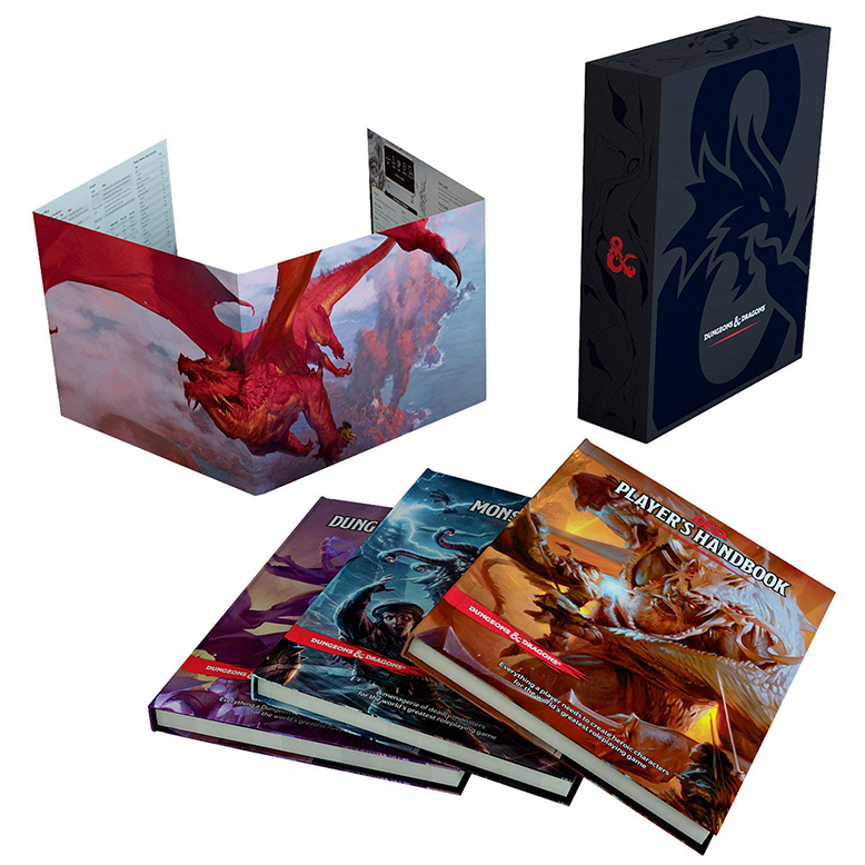 Dungeons & Dragons Rulebook Gift Set