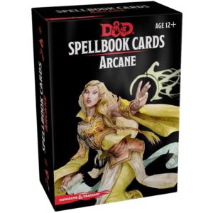 Dungeons & Dragons Spellbook Cards Arcane