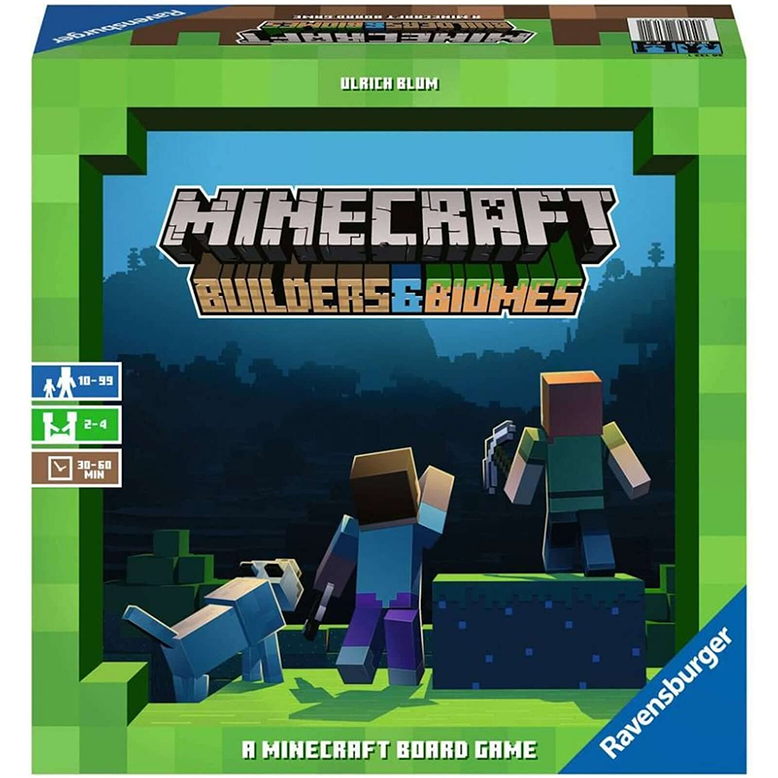 Minecraft Builders & Biomes Board Game
