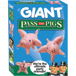Pass the Pigs Giant Inflatable Pigs Edition