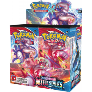 Pokémon TCG: Sword and Shield- Battle Styles Booster Display Box