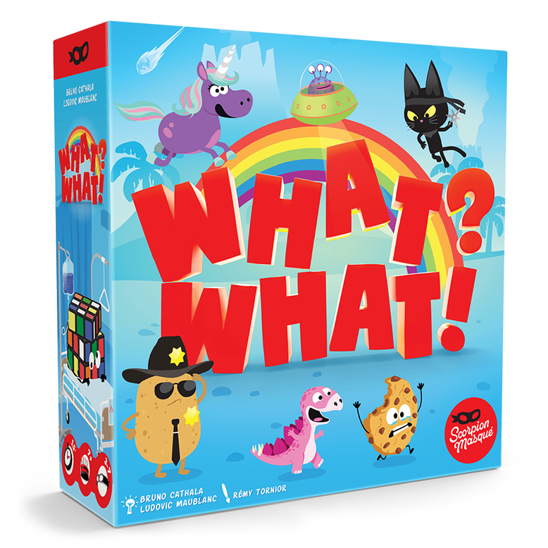 What? What! Board Game