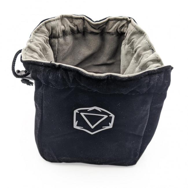 Velvet Dice Bag Open