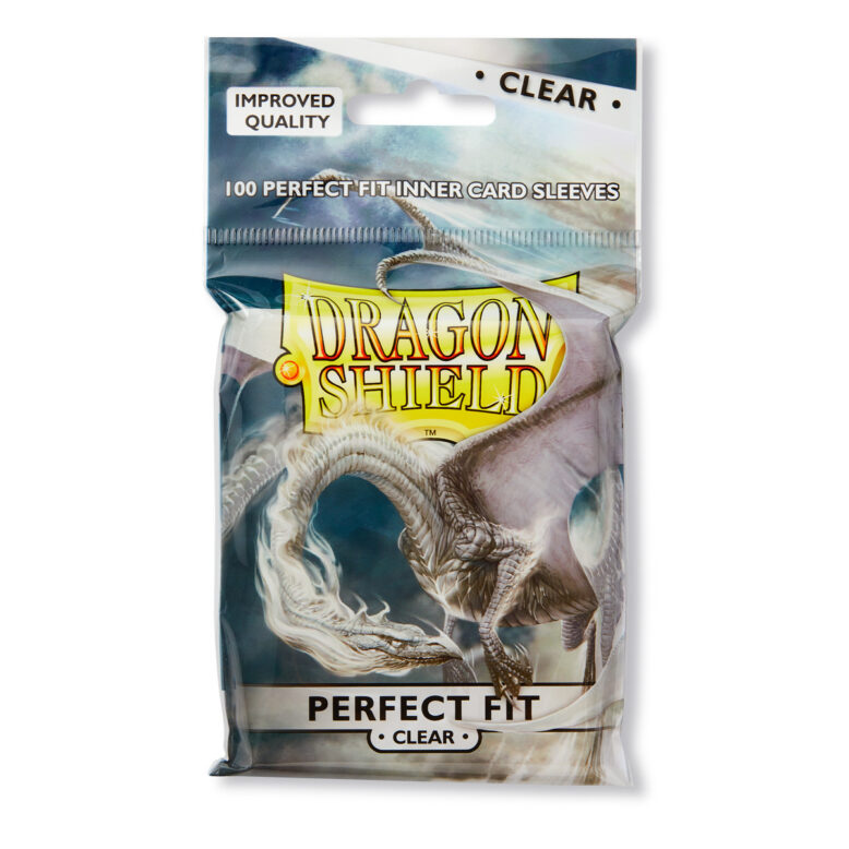 Draong Sheild perfect fit inner card sleeves clear