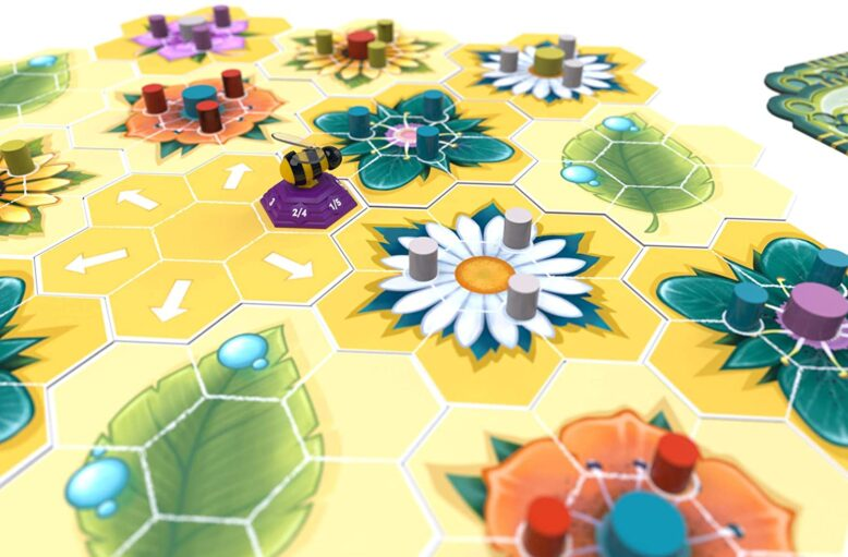 Beez Board Game Contents