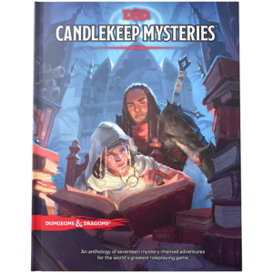 Dungeons & Dragons Adventure Campaign Candlekeep Mysteries