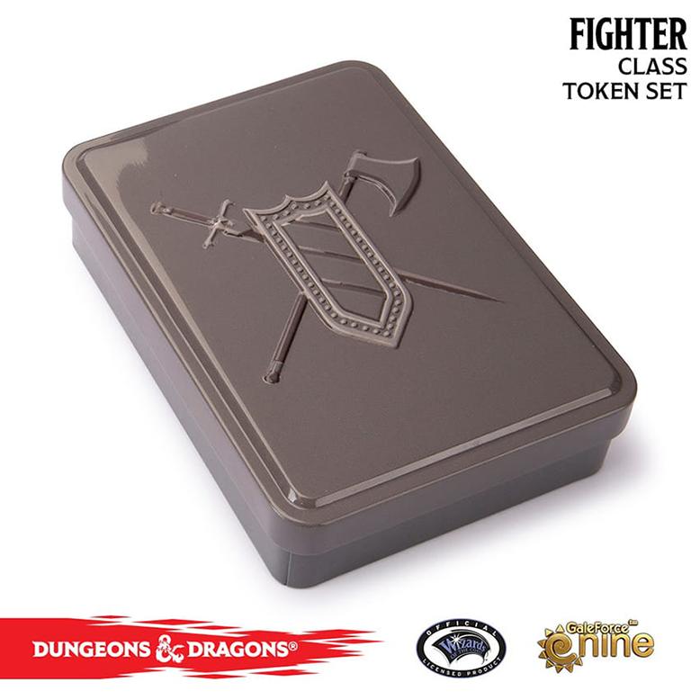 Dungeons & Dragons Class Token Set Fighter