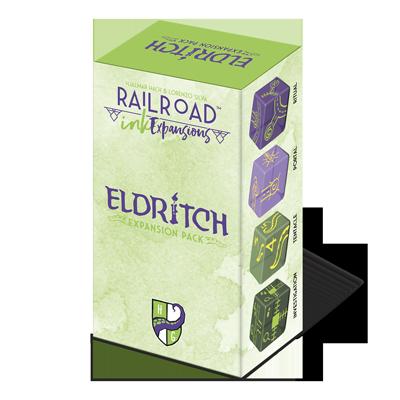 Railroad Ink Eldritch Expansion