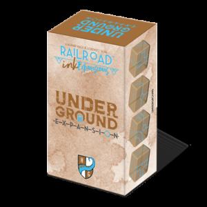 Railroad Ink Underground Expansion