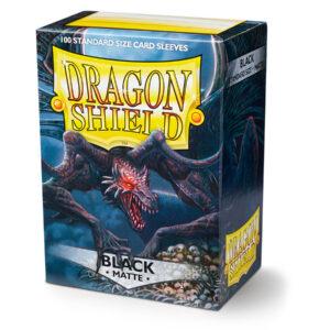 Dragon shield card sleeves and box matte black