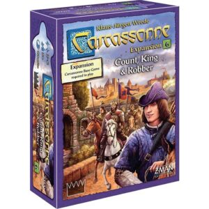 Carcassonne Expansion 6 – Count, King & Robber