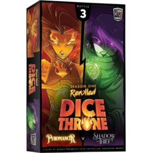 Dice Throne Season One ReRolled Pyromancer v. Shadow Thief