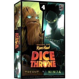 Dice Throne Season One ReRolled Treant v. Ninja