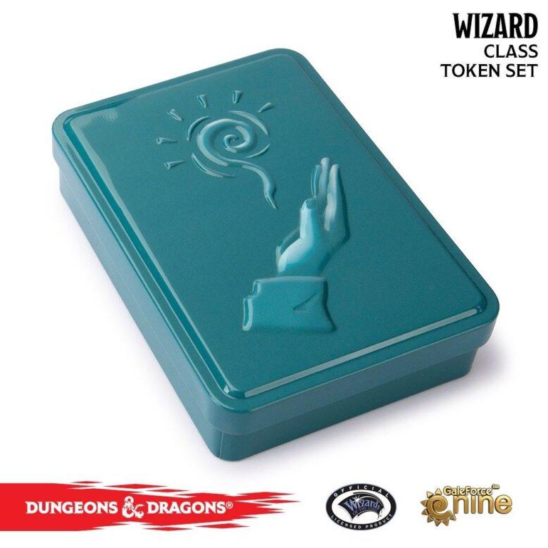 Dungeons & Dragons Class Token Set Wizard