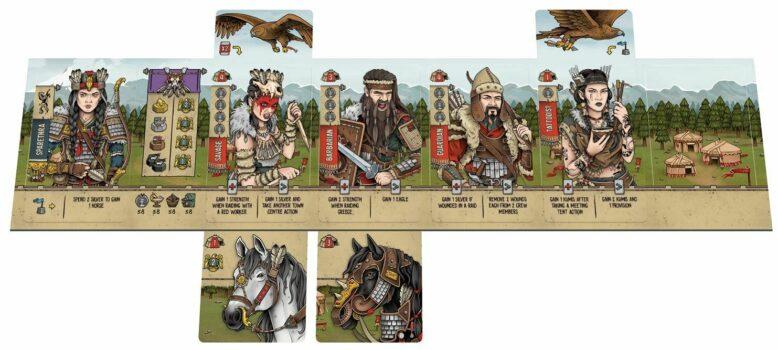 Raiders of Scythia Characters
