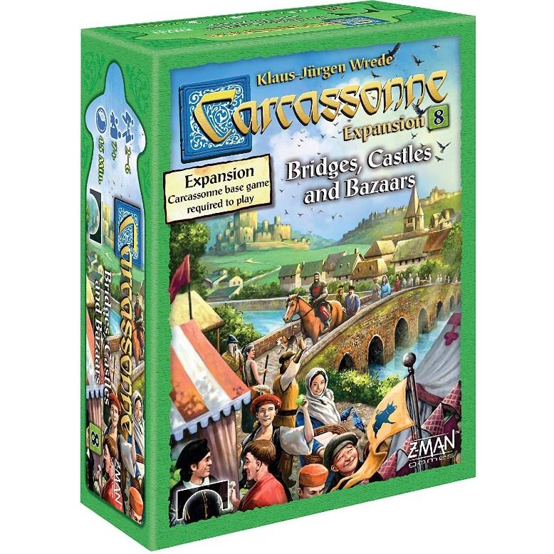 Carcassonne Expansion 8 – Bridges Castles and Bazaars
