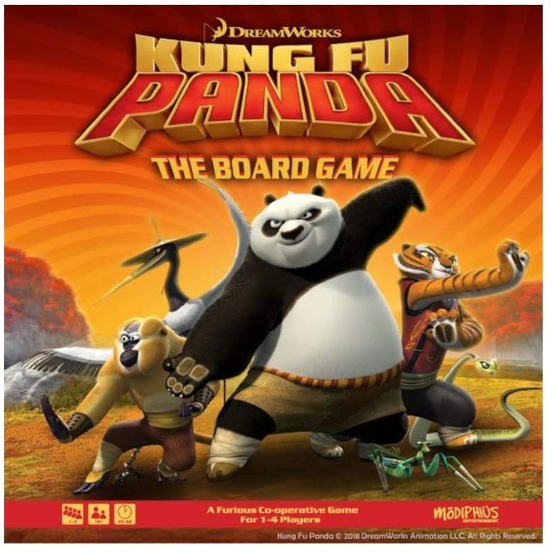Kung Fu Panda The Board Game