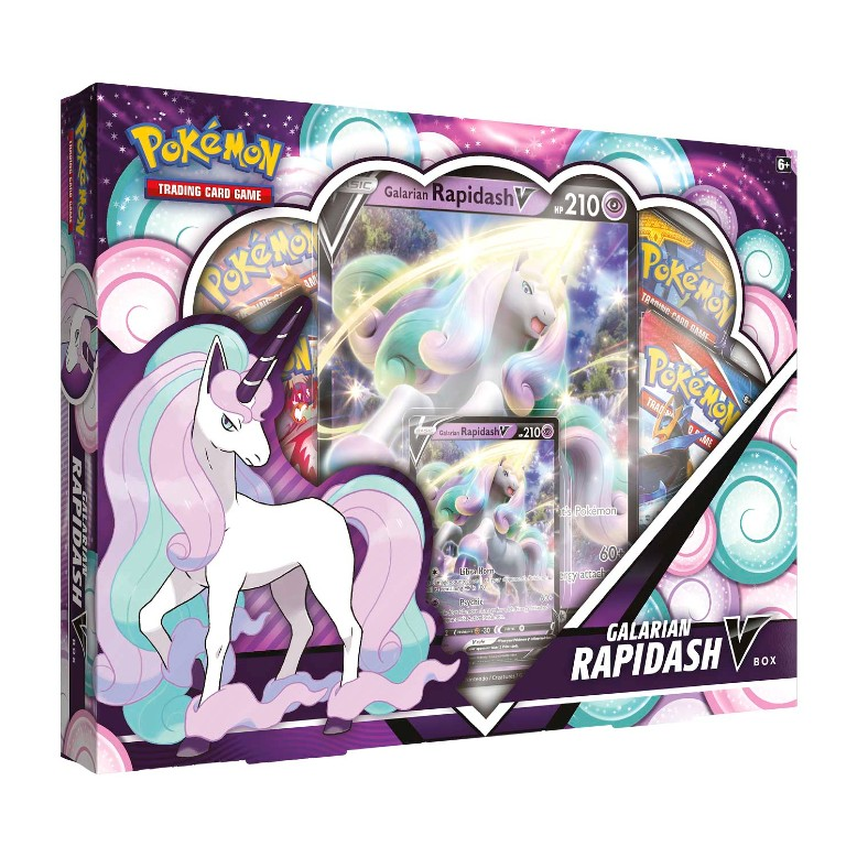 Pokémon TCG_ Galarian Rapidash V Box