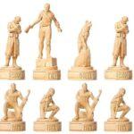 Fallout White Chess Pieces