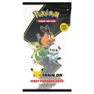 Pokemon First Partner Pack Unova