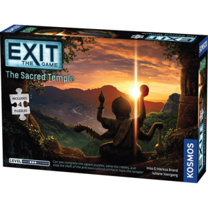Exit The Game + Puzzle The Sacred Temple