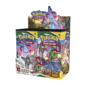 Pokemon Evolving Skies Booster Box Display